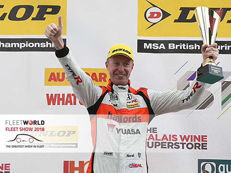 Meet with British Touring Car Championship (BTCC) driver Matt Neal on Honda's Fleet Show stand and experience a track ride with him